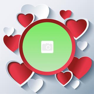 'love','valentine','heart','photoframe'