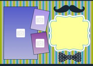 'photoframe','boy','birthday','party','invitation'