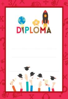 'diploma','school','children'