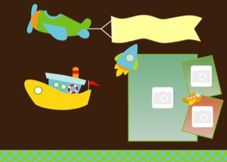 'birthday','party','invitation','photoframe','boy'