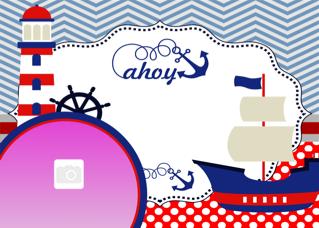 'navy','birthday','invitation','boy'