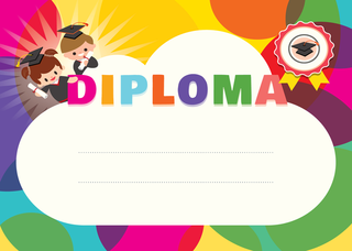 'diploma','children'