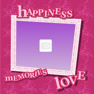 'happy','love','baby','photoframe','memories'